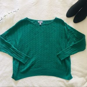 $5 W/ BUNDLE Cashmere Kelly Green Sweater